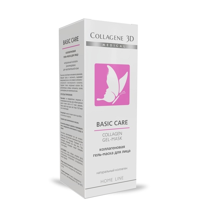 Гель-маска Basic Care чистый коллаген Medical Collagene 3D 30 мл