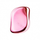 Расческа Compact Styler Baby Doll Pink Chrome Tangle Teezer