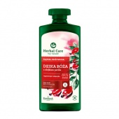 Гель - Эмульсия для ванны и душа Шиповник и Перилла Herbal Care Farmona 500 ml